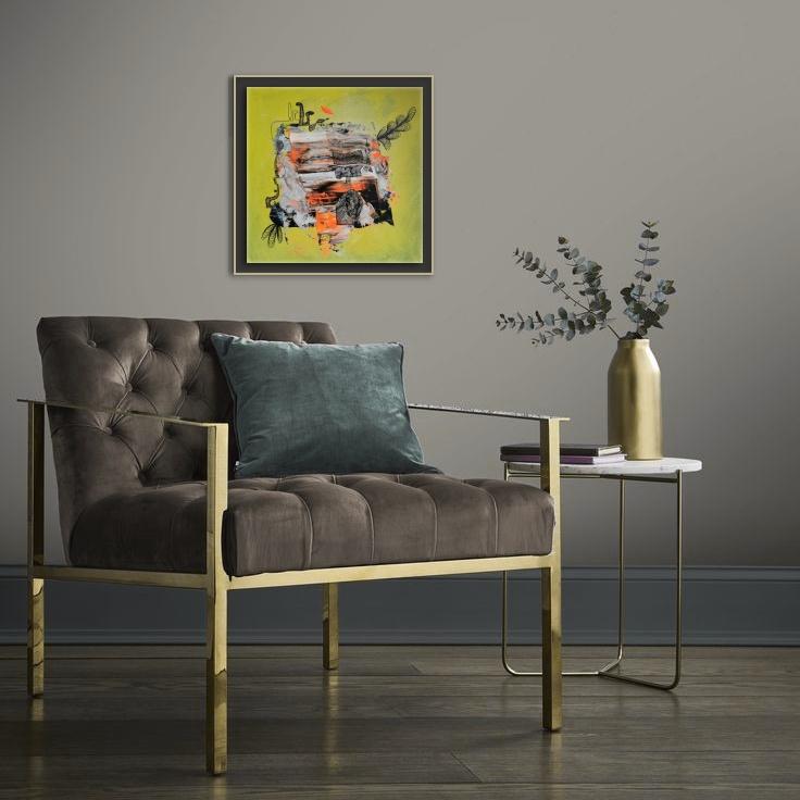 Original Art Home Design Boho Art contemporary Acrylic